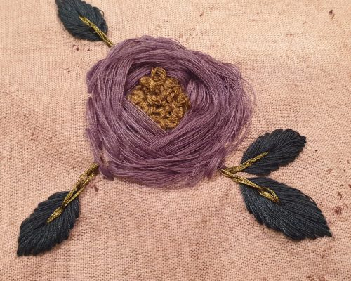 embroidery square
